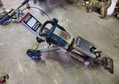 Demolition Equipment - Custom Equipment scraper heads